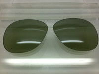 Authentic Persol PO 0714 Steve McQueen Polarized Photochromatic Green Polarized Crystal Glass Lenses Size 52