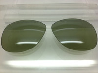 Authentic Persol PO 0714 & 0649 Steve McQueen Polarized Photochromatic Green Polarized Crystal Glass Lenses Size 54