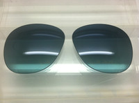 Authentic Persol PO 0714 Steve McQueen Blue Gradient Polarized Crystal Glass Lenses Size 52