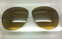 Authentic Persol PO 0714 Steve McQueen Brown w/ Gold Gradient Mirror Photochromatic Polarized Crystal Glass Lenses Size 54