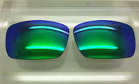 Oakley Fuel Cell Custom Green reflective mirror Non-Polarized Lenses