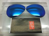Authentic Rayban 3025 Aviator Blue Mirror Coating Lenses SIZE 55