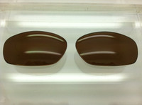 Harpoon compatiable custom lens - Brown Lens - Polarized with backside antireflective coating  (lenses are sold in pairs)