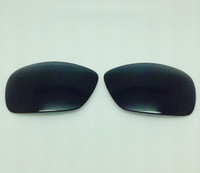 Maui Jim Shoreline 114 Custom Compatible Polycarbonate Black/Grey Polarized Lenses  (lenses are sold in pairs)