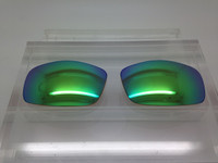 Custom Cooper XL Green Mirror Polarized Lenses (lenses are sold in pairs)