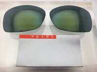 Authentic Prada Sport SPS 54i Green Mirror Lens Pair