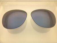 Authentic Persol PO 0714 Steve McQueen Blue  Non-Polarized Crystal Glass Lenses Size 52
