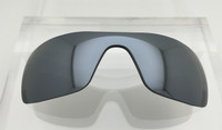 Aftermarket Custom Oakley Batwolf Cell Silver Mirror Polarized Lens HIGH CLARITY