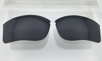 Aftermarket Custom Oakley Flak Jacket XLJ Replacement lenses Black NON polarized Lens HIGH CLARITY