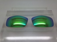 Custom Brown with Green Mirror Coating Polarized Lens Pair SENDING IN FRAMES