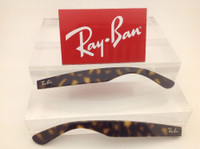 Authentic Rayban RB 2132 New Wayfarer or 4165 Justin Tortoise Replacement Temples
