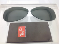 Authentic  Rayban RB 3362 & 8301 G-15 Green Glass Polarized Lenses SIZE 59