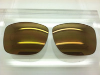 Custom Holbrook Brown with Gold Mirror Non-Polarized Lenses