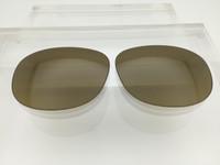 Authentic Persol PO 2409 Brown Gradient Photo Polarized Glass Lenses
