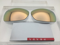 Authentic Prada Sport SPS 54i Gold / Champagne Mirror Lens Pair