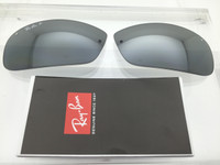 rb3183 qcpo  Authentic RayBan RB 3183 Grey w/ Silver Mirror Gradient Polarized Lenses