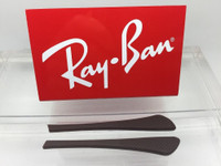 Authentic Rayban Ear Socks/ Temple Tips for Eye Glasses RB 6275 & 7017 Brown w/ Pointed End