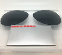 Authentic Prada Sport  SPS 56M  Grey Replacement Lenses SIZE 62