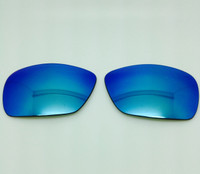 Electric EC/DC ECDC XL Lens Custom Grey with BLUE Reflective Polarized Lenses