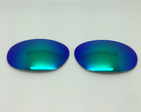 Costa Del Mar - Fathom  Aftermarket Custom GLASS  Green Reflective Polarized Lenses with backside AR Coating PROFESSIONAL INSTALLATION IS REQUIRED - PLEASE READ ITEM DESCRIPTION BEFORE PURCHASE