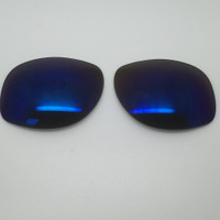 Custom Rayban RB 3387 SIZE 64 Blue Mirror Non-Polarized Lens Pair