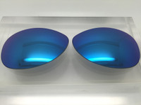 Custom Rayban RB 3386 & 3293 SIZE 63 Blue Mirror Polarized Lens Pair