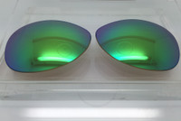 Custom Rayban RB 3386 & 3293 SIZE 63 Green Mirror Polarized Lens Pair