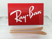 Authentic Rayban Ear Socks / Temple Tips for RB 3025,3026, 3029, 3044 or 3174  Aviator TAN / BEIGE
