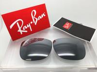 Authentic Rayban RB 3533 G-15 w/ Silver Mirror Non-Polarized Lenses