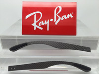 Authentic Rayban RB 8316 Carbon Fiber Replacement Temples Length