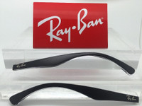 Authentic Rayban RB 3533 Matte Black and Clear Replacement Temples