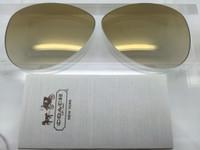 Coach Kristina HC 7003 Authentic Brown Gradient w/ Gold Mirror Gradient Lenses Non-Polar