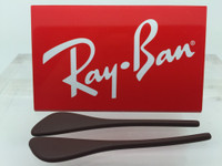 Authentic Rayban Eye Glasses RB 7054 Brown Replacement Temple Tips / Ear Socks