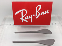 Authentic Rayban Eye Glasses RB 7054 Beige / Tan Replacement Temple Tips / Ear Socks