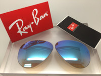 Authentic Rayban 3025 Aviator Brown Gradient w/ Blue Gradient Mirror Coating Lenses SIZE 58