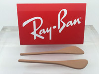 Authentic Rayban RB 4171 Erika  Tan / Light Brown Replacement Temple Tips / Ear Socks