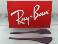 Authentic Rayban RB 4171 Erika PURPLE Replacement Temple Tips / Ear Socks