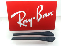Authentic Rayban Ear Socks/ Temple Tips for Eye Glasses RB 6275 & 7017 BLUE w/ Pointed End