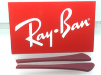 Authentic Rayban Ear Socks/ Temple Tips for Eye Glasses RB 6275 & 7017 RED w/ Pointed End