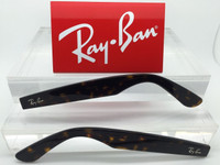 Authentic Rayban RB 5184 RX NEW WAYFARER Tortoise Replacement Temples