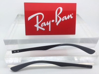 Authentic Rayban RB RX 8411 Grey Carbon Fiber Replacement Temples NEW! Genuine