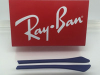 Authentic Rayban Ear Socks - BLUE w/ Pointed End For the RB 3498, 3484, & 3506 ONLY