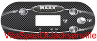 OVERLAY, MAAX COLLECTION, 4 BTN FOR TP600, J1, LT