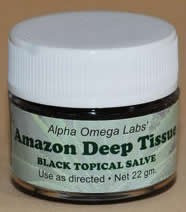 Amazon Black Topical Salve- Deep Tissue 22gm