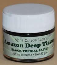 Amazon Black Topical Salve- Deep Tissue 22gm