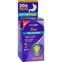 Natrol Zinc Pineapple Flavor