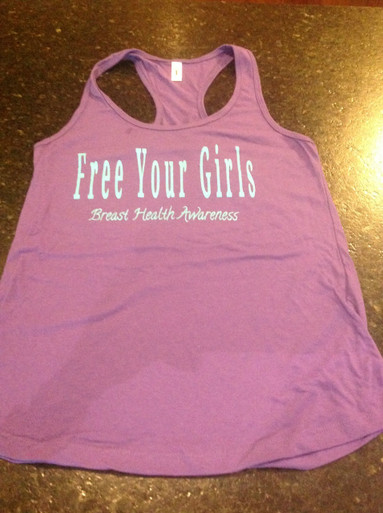 "Purple Tank Top ""Free Your Girls"""