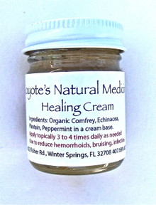 Healing Cream  1 oz. Jar