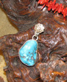 Turquoise Sterling Pendant