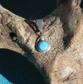 Sterling Silver Turquoise Pendant SSP114